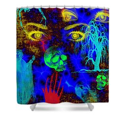 The Fight For Souls Shower Curtain