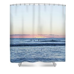 The Final Moments Shower Curtain