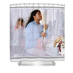 The Final Ride 3 Shower Curtain