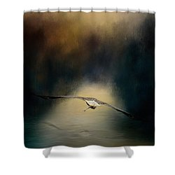 The Finale Shower Curtain by Jai Johnson