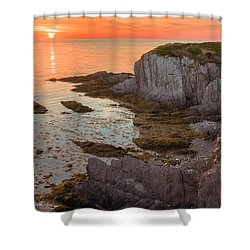 Nova Scotian Sunset Shower Curtain