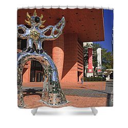 The Firebird At The Bechtler Museum In Charlotte Shower Curtain