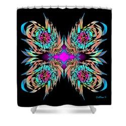 The Firebirds 6-1 Shower Curtain