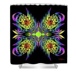 The Firebirds 6-2 Shower Curtain