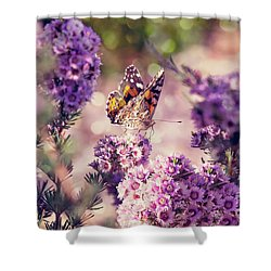 Shower Curtain featuring the photograph The First Day Of Summer by Linda Lees