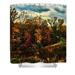 The First Days Of Fall Shower Curtain