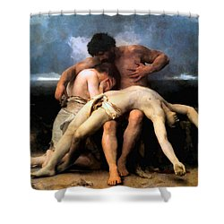 The First Mourning 1888 Shower Curtain