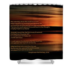 The First Musicians Shower Curtain
