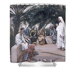 The First Shall Be The Last Shower Curtain by Tissot