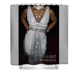 The Fit Goddess Shower Curtain by Talisa Hartley