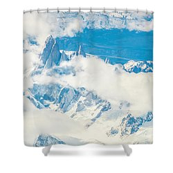 The Fitz Roy Shower Curtain by Andrew Matwijec