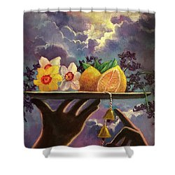 The Five Senses Shower Curtain