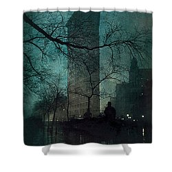 The Flatiron Building Shower Curtain