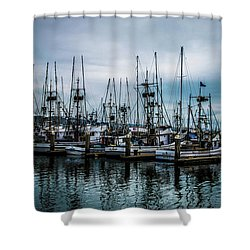 The Fleet Shower Curtain