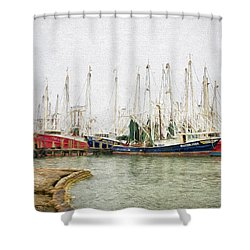 The Fleet Shower Curtain