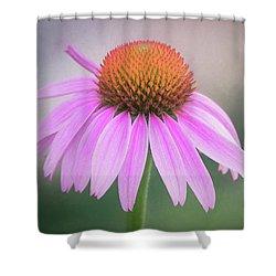 The Flower At Mattamuskeet Shower Curtain