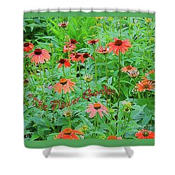 The Flower Garden Shower Curtain