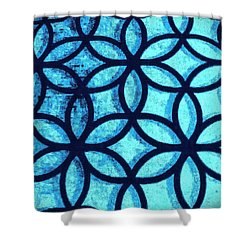 The Flower Of Life Shower Curtain