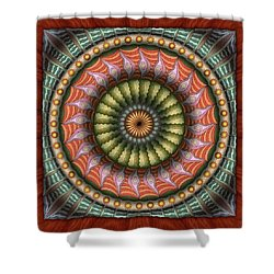 The Flowering Of The Sunshine Moons Shower Curtain
