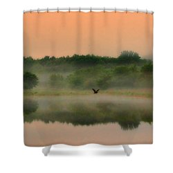 The Fog Of Summer Shower Curtain