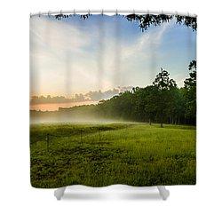 The Fog Of War Shower Curtain