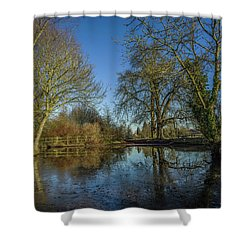 The Ford At The Street Shower Curtain