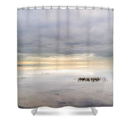 The Forever Dawn Shower Curtain