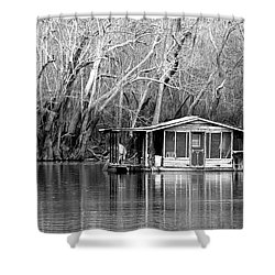 Shower Curtain featuring the photograph The Forgotten by Debra Forand