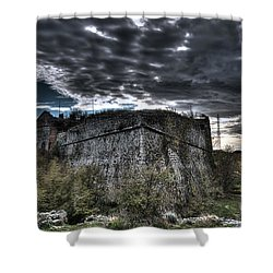 The Fortress The Trees The Clouds Shower Curtain
