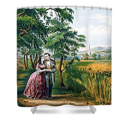 The Four Seasons Of Life Youth Season Love Shower Curtain
