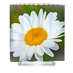 The Friendliest Flower Shower Curtain
