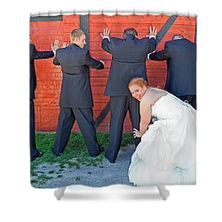 The Frisky Bride Shower Curtain