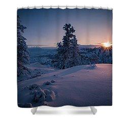 The Frozen Dance Shower Curtain