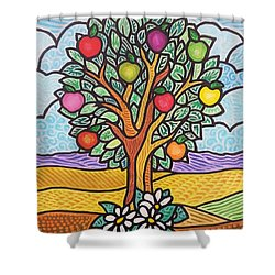 The Fruit Of The Spirit Tree Shower Curtain