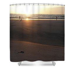 Shower Curtain featuring the photograph The Full Sun by Eric Christopher Jackson