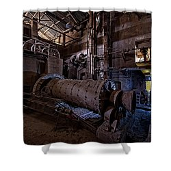 The Furnace And The Rocket 2  La Fornace E Il Razzo 2 Shower Curtain