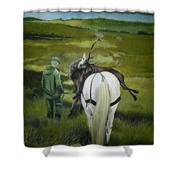 The Gamekeeper Shower Curtain