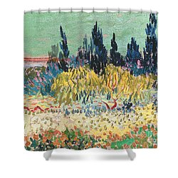 The Garden At Arles  Shower Curtain