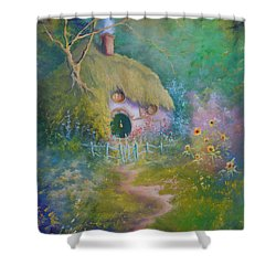 The Garden Gate Shower Curtain