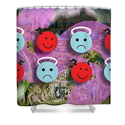 The Garden Of Earthly Delights Shower Curtain