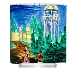The Garden Of Pictures Shower Curtain