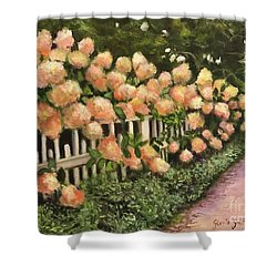 The Gardens  Shower Curtain