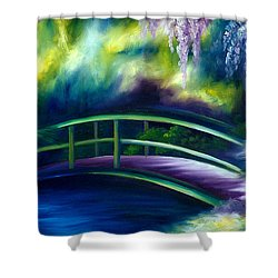The Gardens Of Givernia Shower Curtain