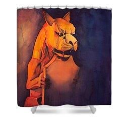 The Gardian Shower Curtain
