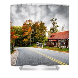 Shower Curtain featuring the photograph The Gate Keeper by Robert Clifford