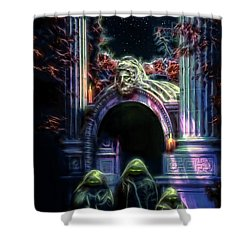 The Gate Keepers Shower Curtain