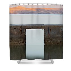 The Gate Of Freedom Shower Curtain