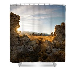 The Gateway Shower Curtain by Bjorn Burton