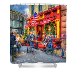 The Gathering Spot Shower Curtain