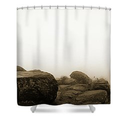 The General's View Shower Curtain by Jan W Faul
